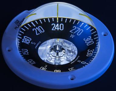 Boot kompas met verlichting