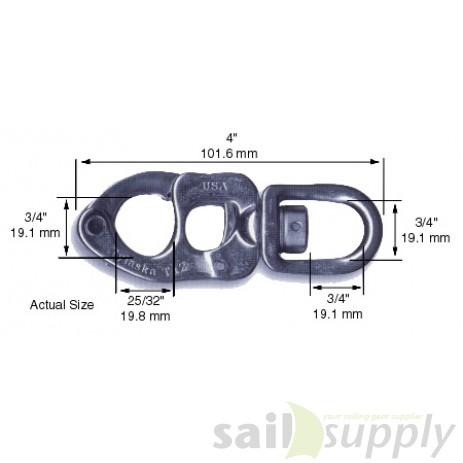 sluiting 102 mm standaard T12 S