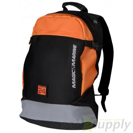 Magic Marine Cube Backpack zwart/oranje