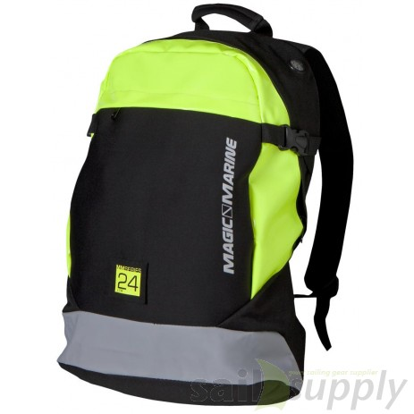 Magic Marine Cube Backpack zwart/geel