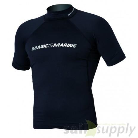 Magic Marine Cube Rash Vest S/S Men