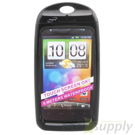 HTC en Samsung Galaxy beschermhoes waterdicht Aryca zwart