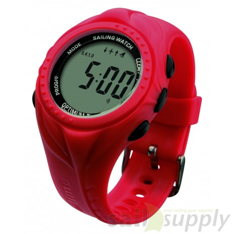 Optimum OS series 1 zeilhorloge rood