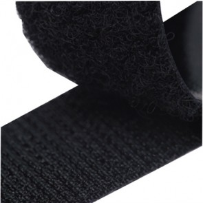 ZipFix klittenband (haak)-zwart 20mmx5M
