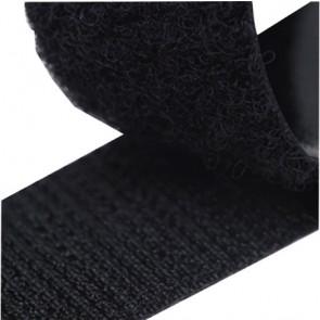 ZipFix klittenband (lus)-zwart 20mmx5M