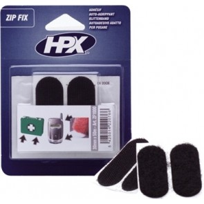 ZipFix klittenband pads 20 x 50 mm in blister