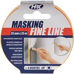 Masking tape 4400 - oranje 50mm x 50M