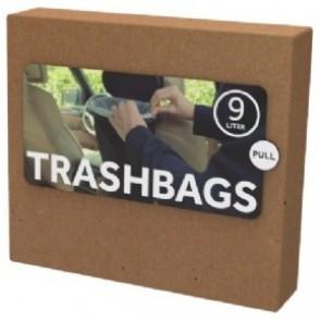 Flextrash Trashbags bio vuilniszakken - 9 ltr - 20 stuks