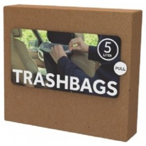 Flextrash Trashbags bio vuilniszakken - 5 ltr - 10 stuks
