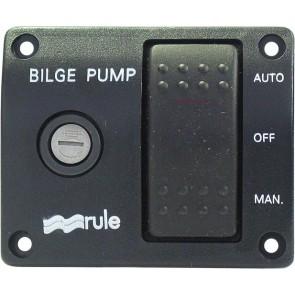 Rule DeLuxe Bilgepompschakelpaneel 12V