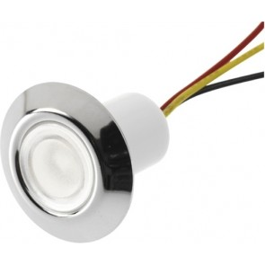 LED orientatieverlichting rond 30mm wit