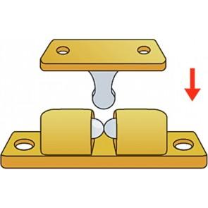 Messing Kogelsnapper 44 X 8 Mm