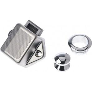 Kleine ring chroom 16mm