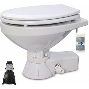 Jabsco Quiet Flush Stil Regular elektr. toilet 12V met spoelwaterpomp