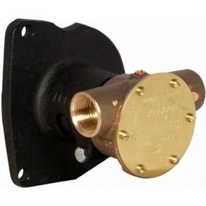 "Jabsco Koelwaterpomp 3/4"" inw. 40 l/m Motor flensaansluiting"