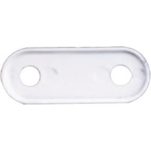 Nylon beschermer wit  L41xB16mm