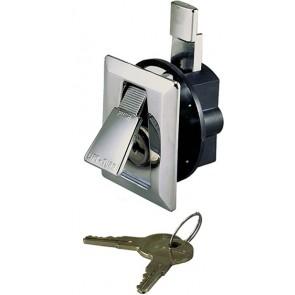 Perko Flush Lock & Latch 921 Chroom+2 Sleutels