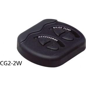 BEP Contour G2 2 schakelaars+zekering