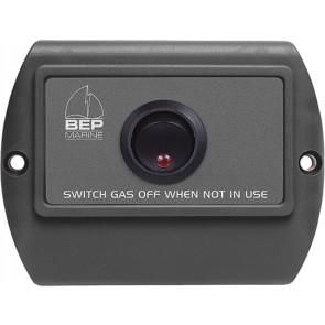 BEP aan/uit schakelpaneel voor gasafsluiter