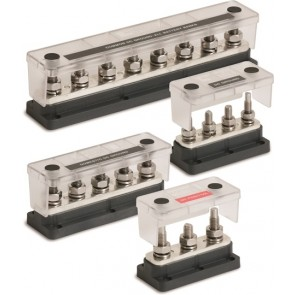 Pro Installer 4 Stud Heavy Duty Busbar and Cover -500 Amp