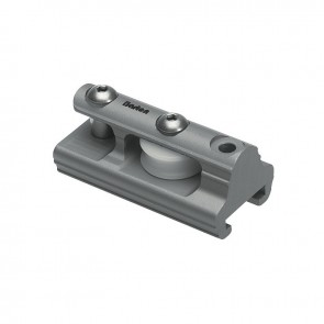 Barton t-rail 20mm eindstuk met schijf