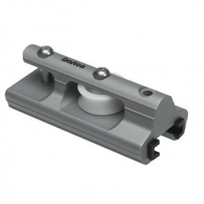Barton t-rail 32mm eindstuk met schijf