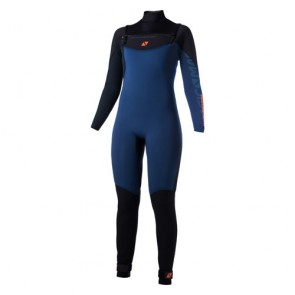 Magic Marine Ace Fullsuit 4/3mm Fzip Women Navy