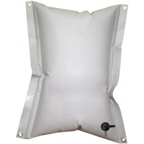 Lalizas rechthoekige flexible watertank - 55L - grijs