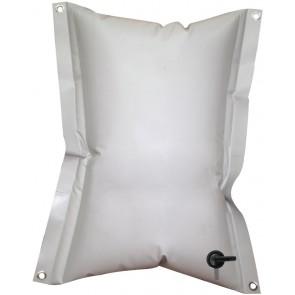 Lalizas rechthoekige flexible watertank - 150L - grijs