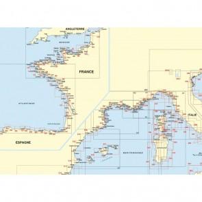 Plastimo navigatiekaart 1010 Ostende - Boulogne - Straits of Dover