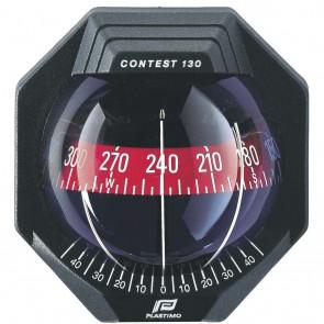 Plastimo Contest 130 kompas op beugel zwart - rode roos conisch