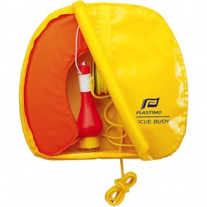 Plastimo Rescue Buoy met licht en gele tas