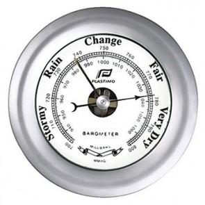 Plastimo Barometer 4inch matverchroomd