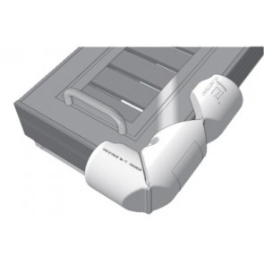 Plastimo steigerbumper hoekmodel 18x80 wit