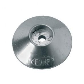 Anode zink roer/zwaard/trimtab 50mm
