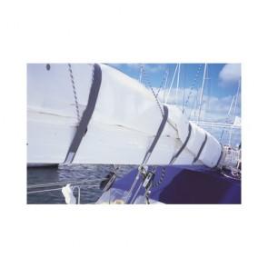 Zeilbinder klittenband 150cm grijs 4st.