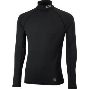 Gill UV Rash Vest L/S black