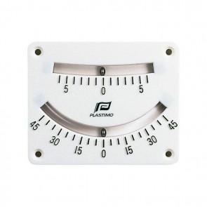 Hellingmeter met dubbele uitlezing