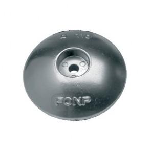 Anode roer/zwaard aluminium 100mm (2stuks)