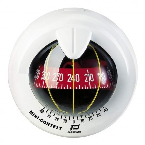Plastimo Mini-Contest 2 kompas wit, conische roos rood