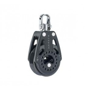 Harken ratchet 40 mm enkel blok 2608 met swivel
