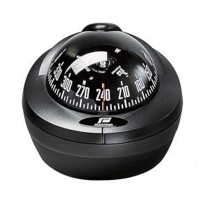 Plastimo Offshore 75 opbouw kompas zwart - zwarte roos conisch