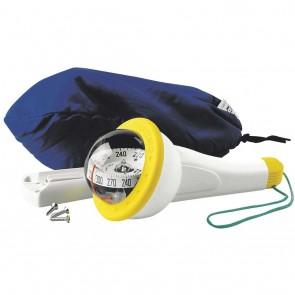 Plastimo Iris 100 handkompas geel met licht ZABC