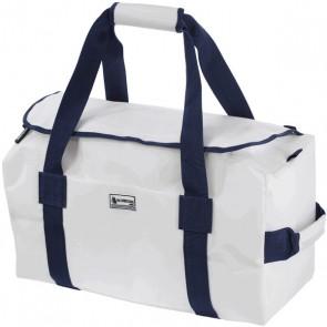Bainbridge Zeildoek Tas Deluxe Large wit-blauw