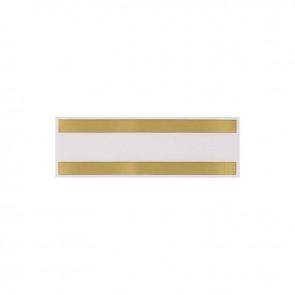 Optiparts meetband sticker goud