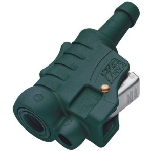Hose Connector OMC female engine/tank side Nitrile