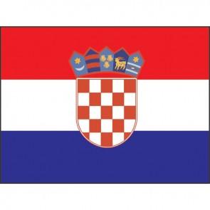 Lalizas croatian flag 20 x 30cm