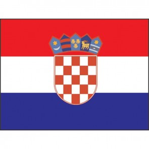 Lalizas croatian flag 30 x 45cm