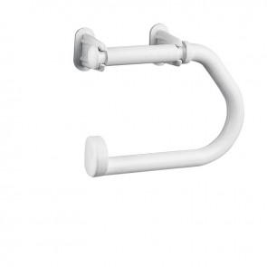 Lalizas holder for toilet paper, plastic , white