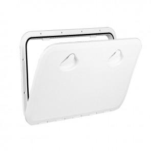 Lalizas top line hatch, white, 460x510mm